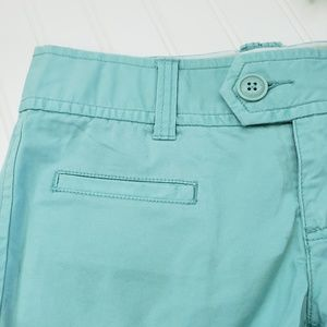 American Eagle Outfitters Shorts - American Eagle Mint Green Stretch Chino Shorts